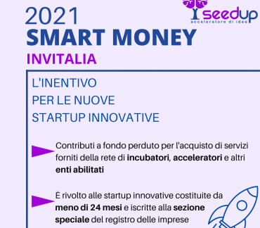 Smart Money Invitalia SeedUp